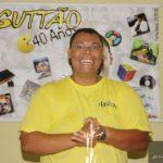 Guttão em seu aniversário de 40 anos, próximo ao auge do peso.